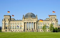 Reichstag or Bundestag in Berlin, Germany