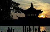 """The West Lake in Hangzhou city, east Chinas Zhejiang province"""