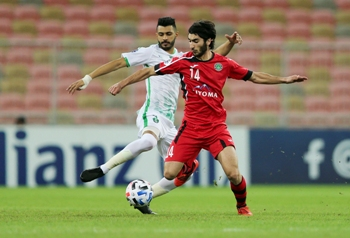 Al Ahli Saudi FC (KSA) vs FC Istiklol (TJK) during their 2020 AFC Champions League playoff match at the King Abdullah Sports City Stadium on 28 January 2020, in Jeddah, Saudi Arabia. Photo by Stringer / Lagardere Sports